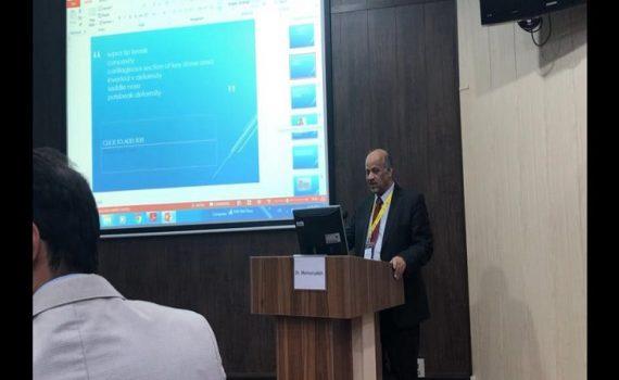 حضور دکتر اصغر معمارزاده در هفتمين كنگره راينولوژی و جراحی پلاستيک بينی و صورت در تهران