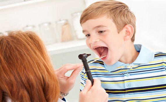 تشخیص و درمان لوزه سوم