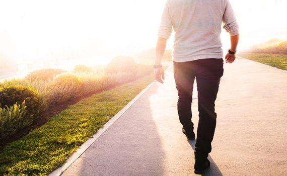 پیاده روی بعد از جراحی بینی
